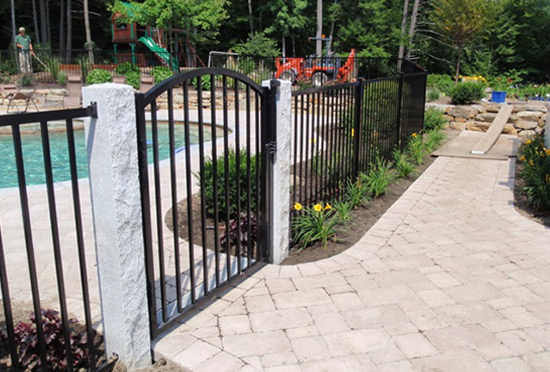 walkway fencing gn fencing landscaping